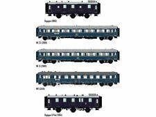 """HS   LS 99004 ModelsWorld  MW1004 5-tlg.  Personenwagen Set """"Train Bleu""""  CIWL"""