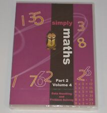 Student Support Centre Simply Maths DVD Part 2 Volume 4 Data Problem Solving