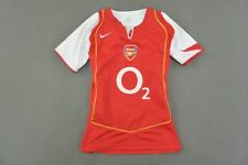 Women's 2004-05 nike Arsenal FC GUNNERS Home Shirt SIZE M (Ladies)