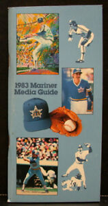 1983 Seattle Mariners Official Media Press Guide, 104 Pages of Facts & Fun!