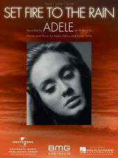 Set Fire to the Rain Sheet Music Piano Vocal Adele NEW 000354263