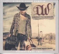 DANNY WORSNOP The Long Road Home Radio Sampler UK 5-track promo only CD SEALED
