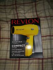 Compact Hair Dryer Heat Professional Blow Fan Cool Shot Styler Anti Slip Bumper