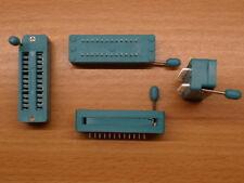 "24pin ZIF socket  for DIL ICs Textool 0.3"" Zero Insertion Force narrow DIP"