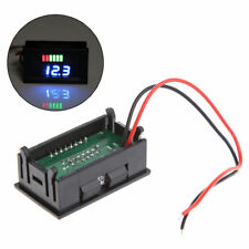12V Lead-Acid Battery Power Capacity LED Indicator Digital Voltmeter Tester