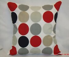 "4 X PRESTIGIOUS CUSHION COVERS, Design ""DISC"" 100% Cotton. 16""x16"""