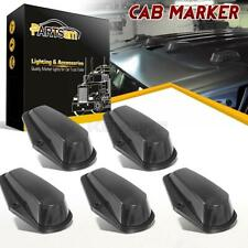 5xCab Marker Roof Top Clearance Light Black Lens+Base Housing for Ford 1980-1997