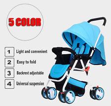 Newborn Baby Toddler Kids Foldable folding Travel Pushchair Stroller Pram Buggy