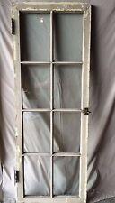 Individual Antique Cabinet Pantry Cupboard Casement Door Window 8 Lite 1817-16