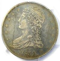 """1839-O Capped Bust Half Dollar 50C - PCGS XF Details (EF) - Rare """"O"""" Mint Coin!"""