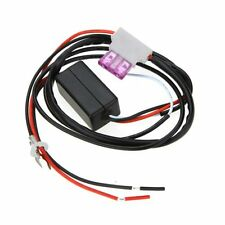 12V Daytime Running LED Light DRL Relay Harness Automatic On/Off Switch Control