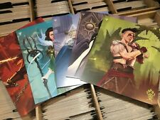 MTG Ravnica Allegiance Weekend Promo Prints Set of 5