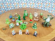More details for collectable frog toad ornaments job lot collection x 26 sprogz etc