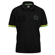 Nike Air Jordan Brazil World Cup Soccer Polo Size XSmall Black 2014 Rare New NWT