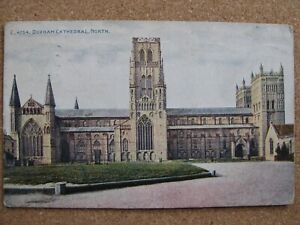 Durham Cathedral from North - posted 1923