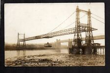 Widnes - Transporter Bridge - real photographic postcard