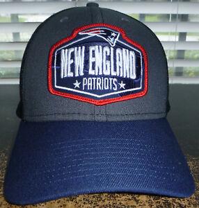 New England Patriots New Era 2021 NFL Draft Trucker 39THIRTY Flex Hat Size L/XL