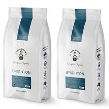 2x Green Barista Brighton Blend 250g Coffee Beans Medium/Dark Roast Int 4 Drink