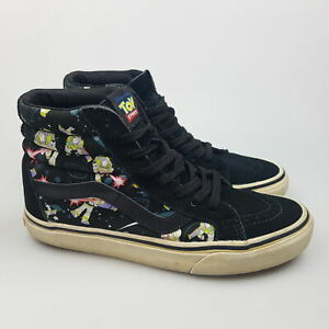 Women's VANS 'Toy Story' Sz 6.5 US Shoes Black GCon Suede | 3+ Extra 10% Off