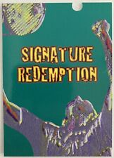 1996 INTREPID RICHARD KRAJICEK SIGNATURE REDEMPTION TENNIS CARDS 186/200