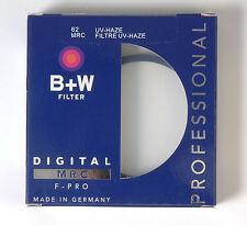 B+W 62mm Macro UV Haze Protettivo Filtro per Pentax Canon Nikon Sony Olympus