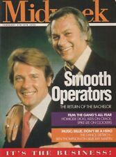 ROGER MOORE - TONY CURTIS - Vintage British MIDWEEK Magazine 1996 C#75