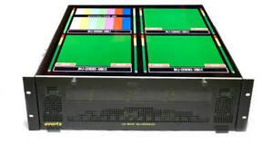 Evertz 7800FR w/ 3x 7767VIP4-HSN 4 Input HD/SD/Analog/DVI HD Multiviewer
