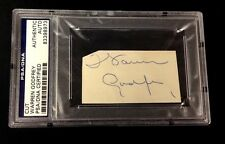 WARREN GODFREY SIGNED CUT DETROIT RED WINGS PSA/DNA AUTHENTICATED AUTOGRAPH