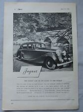 1946 Jaguar Original advert No.4