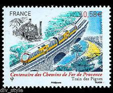 Trains of Provence France Centennial Train des Pignes Passenger Railway Railroad