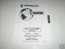OMC Cobra 5.0 - 5.8 Liter Stern Drives Parts Catalog 95