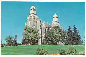 Logan,Utah LDS/Mormon Temple, Mac Miller Photo, Unused Vintage Postcard
