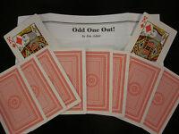 Odd One Out Card Magic Trick - Close-Up Card Magic, Pocket, Walk Around, Street