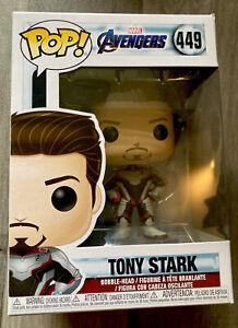 Funko Pop! Marvel Avengers Endgame TONY STARK #449 Vinyl Figure Boxed Brand New