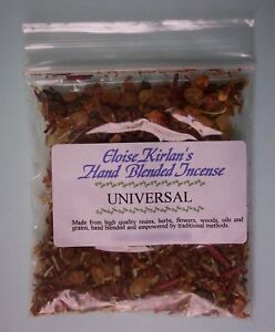 UNIVERSAL Hand Blended Grain Incense Wiccan Pagan MANIFESTING POSITIVE GOALS