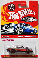HOT WHEELS MODERN CLASSICS BUICK GRAND NATIONAL #8/15