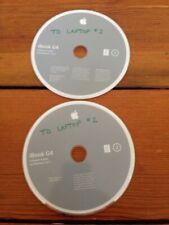 2004 iBook G4 Install Restore CD Macintosh Mac OS X 10.3.4 Panther Software