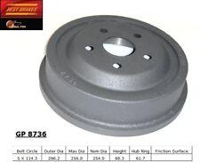 Brake Drum-Base Rear Best Brake GP8736