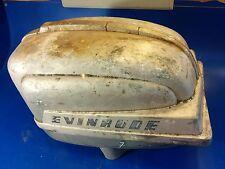 evinrude   motor engine cover  hood 1954 Fleetwin 7 1/2 7.5 5.5