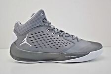 Mens Nike Jordan Rising High Basketball Shoes Size 15 Grey White 768931 003