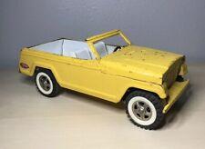 Vintage 1960's TONKA JEEPSTER PRESSED STEEL YELLOW VERY RARE!