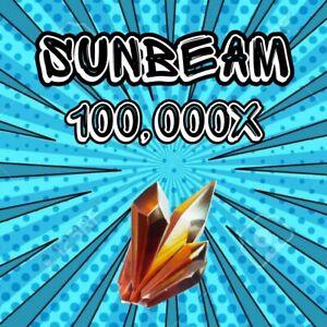 100,000x Sunbeam Save The World