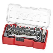 Teng Tools TJ1420 Socket Set 1/4 inch Drive 20 Pieces