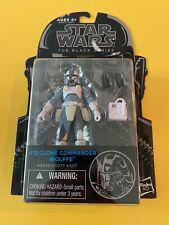 Star Wars - Clone Commander Wolffe #12 - 2014 Black Series 3.75 - MOC [BLK4-101]
