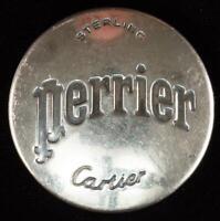 Vintage CARTIER Perrier Sterling Bottle Cap
