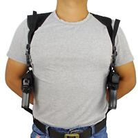 Tactical Concealed Double Draw Shoulder Holster Adjustable Dual Pistol Holster