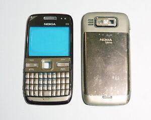 gold Housing cover fascia facia faceplate skin case for Nokia E72 --