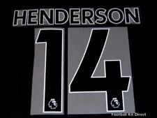 Liverpool Henderson Premier League Football Shirt Name Set Sporting ID 2017/18 A