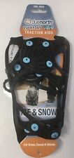 Due North Everyday Snow & Ice Shoe Traction Aid, Small/Medium, Black