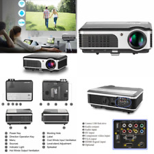 CAIWEI LED Android Wireless Projector with DVB-T2 HDMI TV Tuner Built-in WiFi Ho